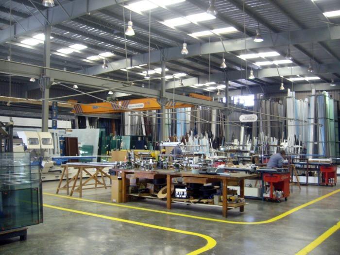 Sección aluminio