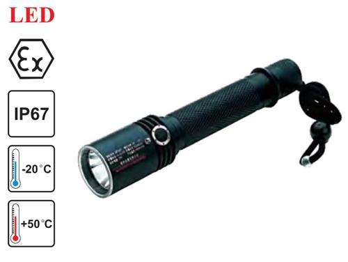 LED explosion proof flashlight