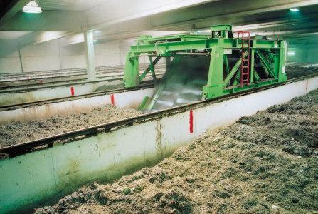 Zeilenkompostierung BIOFIX