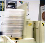Specialised laboratory for optimising pallet wrapping