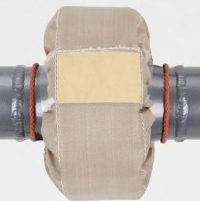 PTFE-Spritzschutz für Flansche