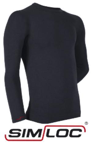 BLACK_LINE Langarm-Shirt