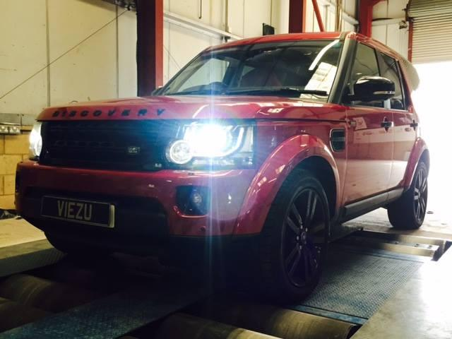 Range Rover Tuning and Range Rover Supercharger Pulley Package