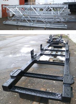 WELDED CONSTRUCTIONS: