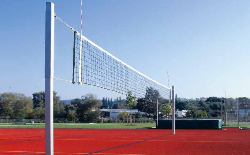 Volleyball net posts standard