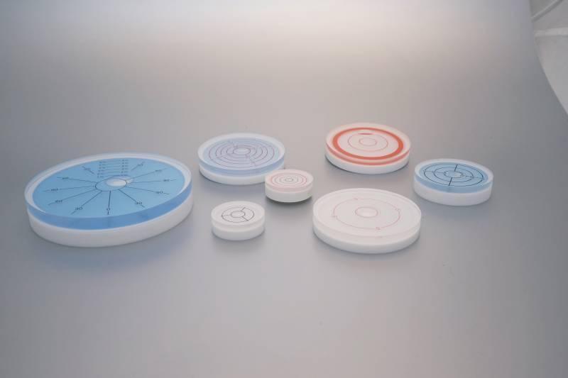 Einbau - Plexiglasdosenlibellen