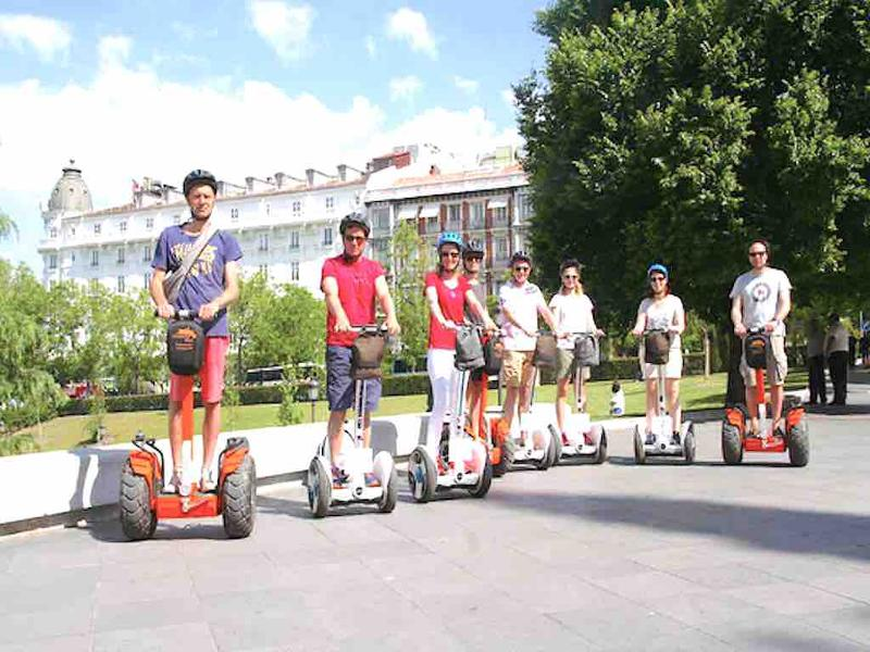 Ninebot Segway in Madrid with Funky Rider