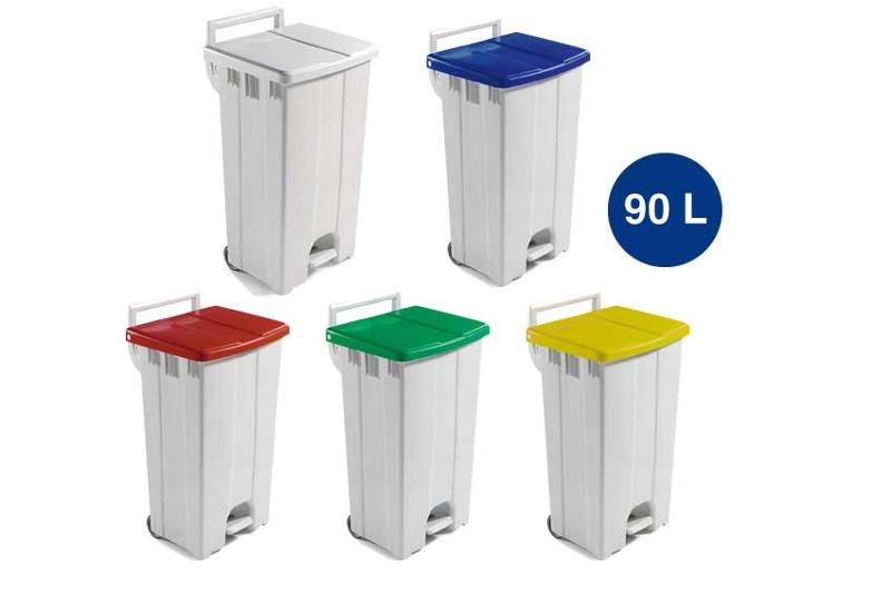 Plastibac provide a complete range of waste bins for commercial use in factories, schools, kitchens, offices,... Coloured lids are very helpful in waste separation and productive waste management