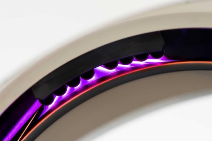 Corona-Anlage mit VA-Elektroden