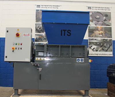 Twin Shaft shredder mod. ITS850x550E- 22 kW