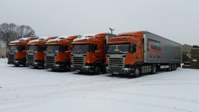 Trucks of Franklin