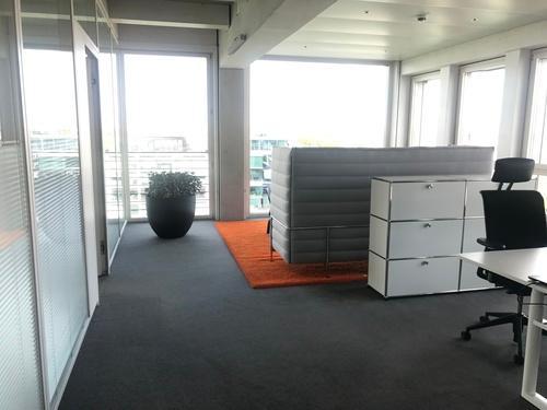 Blick in die Büro-Räumlichkeiten