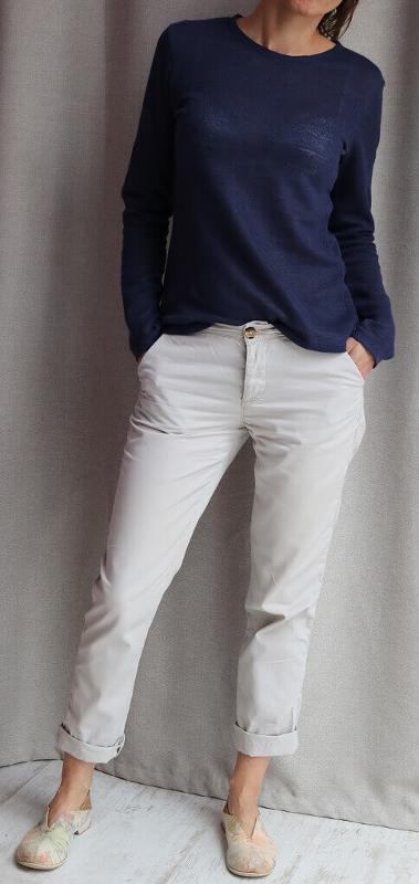 Long sleeve shirt - linen