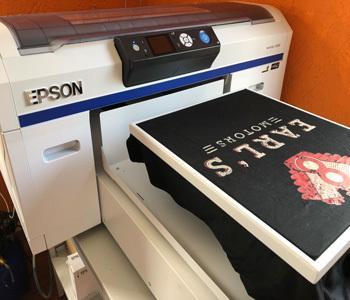 Textil-Direktdruck