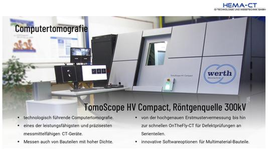 Werth Tomoscope HV Compact 300kV