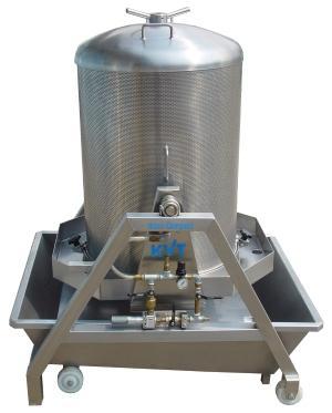 KVT wine press MAXI-COMPACT