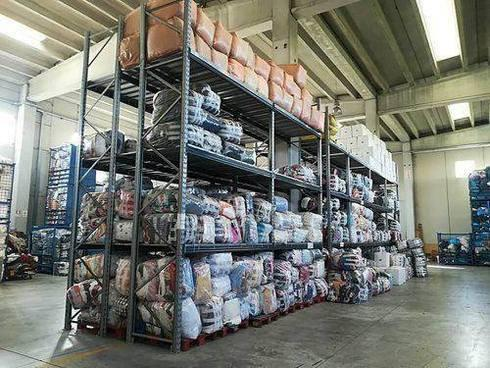 warehouse of Fratelli Mondola srl
