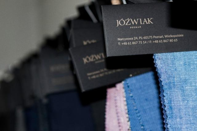 Jóźwiak's fabrics samples