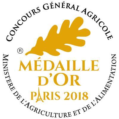Médaille d'OR 2018 Foie Gras Entier de Canard
