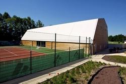 Couverture Terrain de Tennis