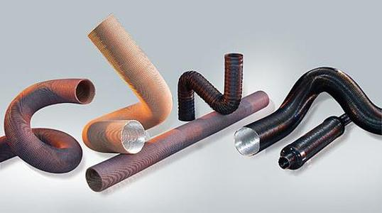 OHLER Air extraction pipe