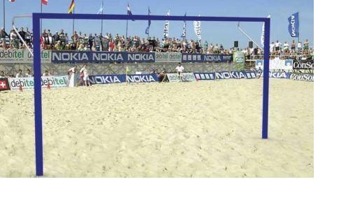 Beach handball goal