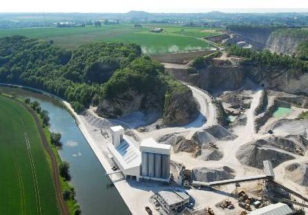 les Calcaires de la Sambre produisent entre 600.000 et 700.000 tonnes par an