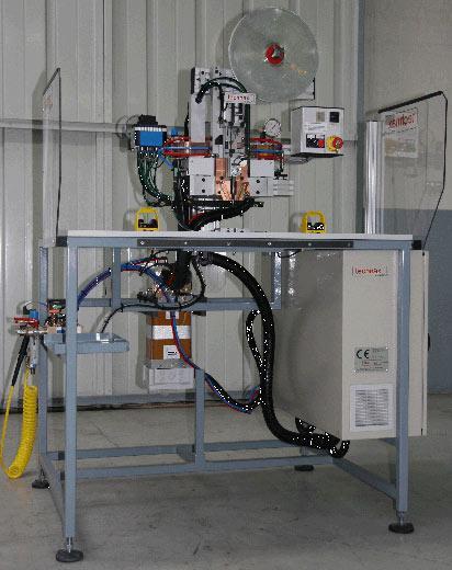 Resistance welding station
