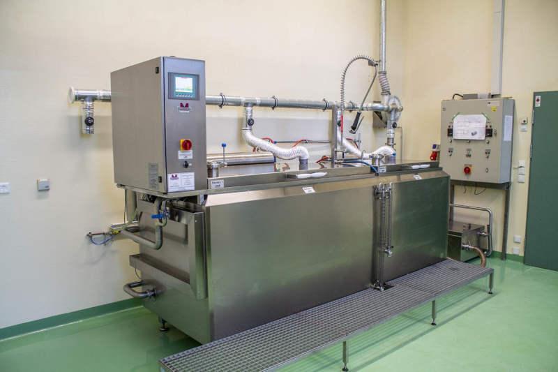 Knochen Mazerationsanlage mit zwei Prozesskammern