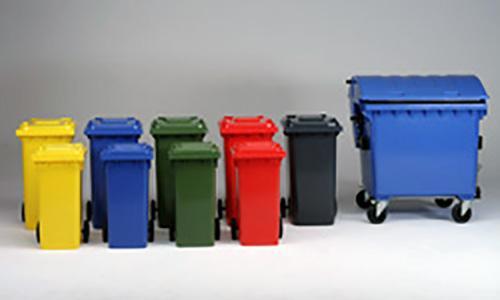 contentores para lixo
