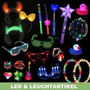 LED luminous articles, bright party articles, gimmicks, EL and fun articles