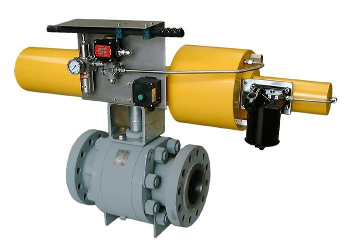 Actuator off-shore - PETRAS