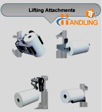 Presa bobine con mandrino TTR Handling