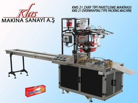 KMS 21 ENVELOPE TYPE PACKAGING MACHINE TECHNICAL