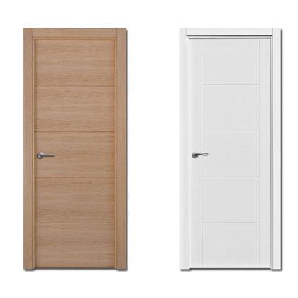 Puertas interiores para vivienda