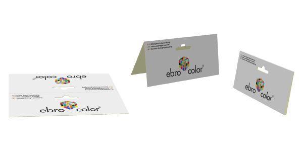 Sattel Etiketten mit Euroloch