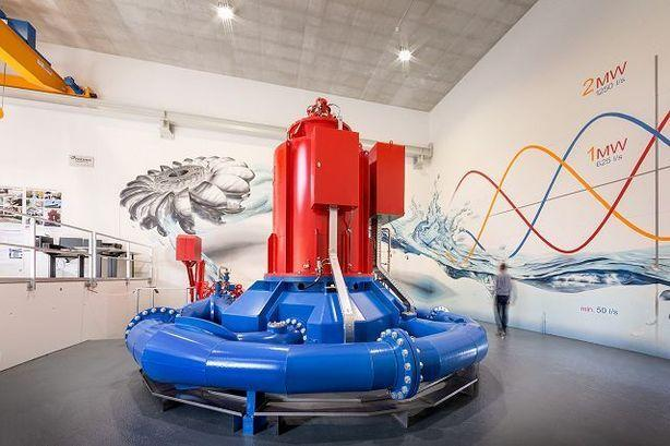 Hydropower Plant, Swiss