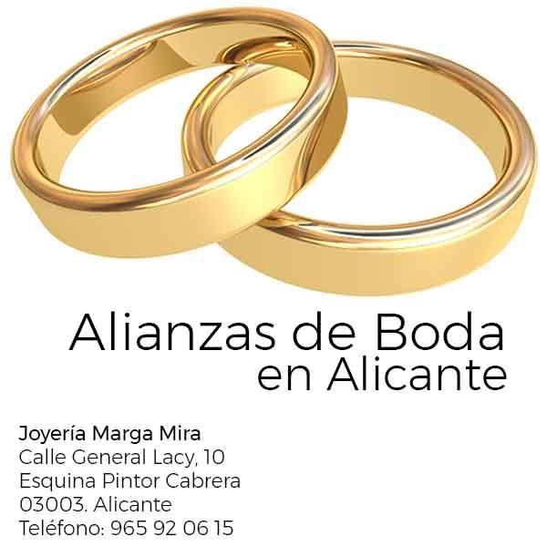 Where to Buy Wedding Bands in Alicante (wedding rings)