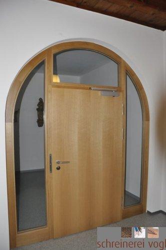 Brandschutztüren aus Holz