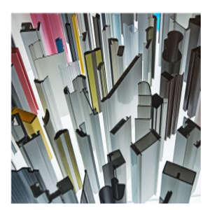 Kunststoffprofile aus Hart-PVC