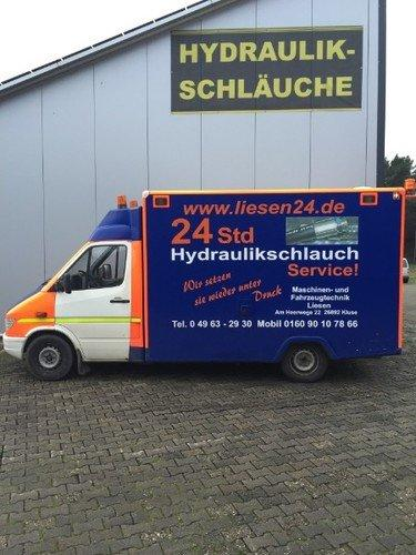 24h Hydraulikschlauchservice
