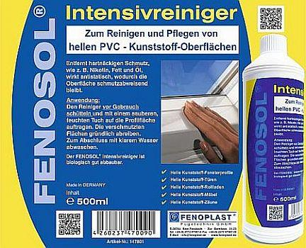 FENOSOL® intensive cleaner  PVC Cleaning and after-care agents