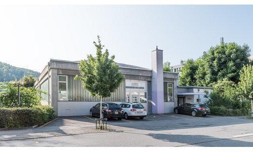 Gebäude der Maschinenfabrik Bern AG