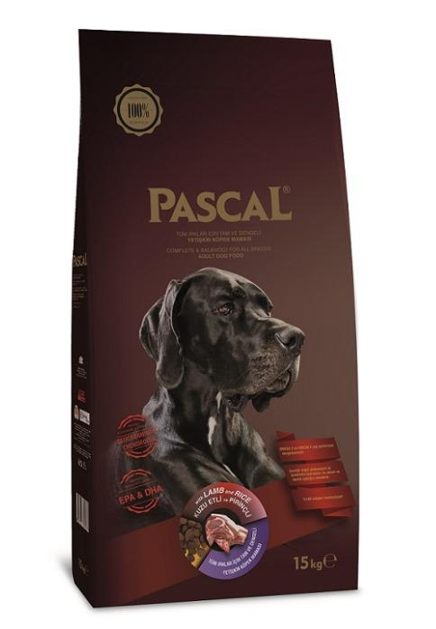 PASCAL ADULT DOG FOOD LAMB&RICE 3 KG-15 KG