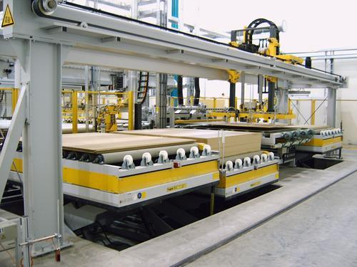 Lifting table - timber industry