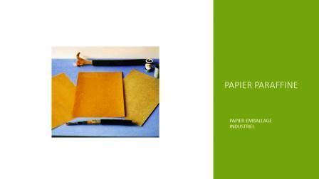 Papier paraffiné - Papeterie GEREX