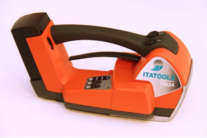 Battery Strapping tool - Automatic operating mode