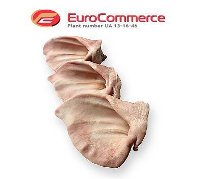 Frozen pork ears with shells