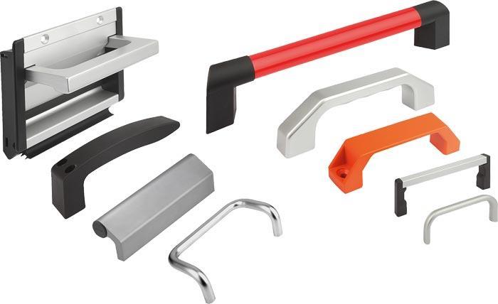 Bow handles, Pipe handles and tray handles