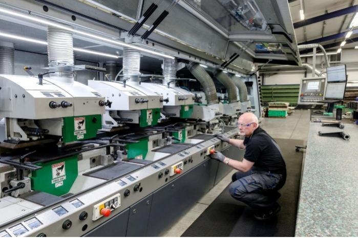 Produktionshalle Profilautomat